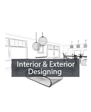 interior and exterior designing training