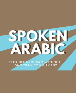 spoken arabic training